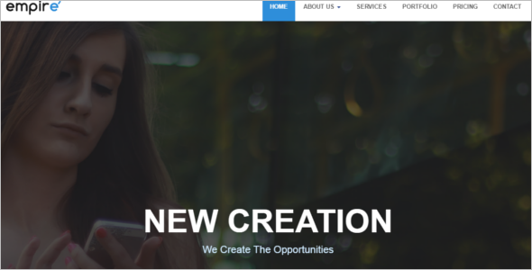 Corporate HTML 5 Website Template