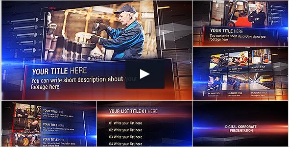 Corporate Industrial Video Template