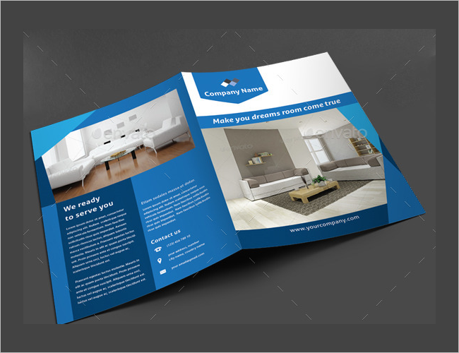 Corporate Interior Brochure Design