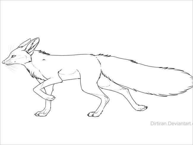 Craft Template Fox Design