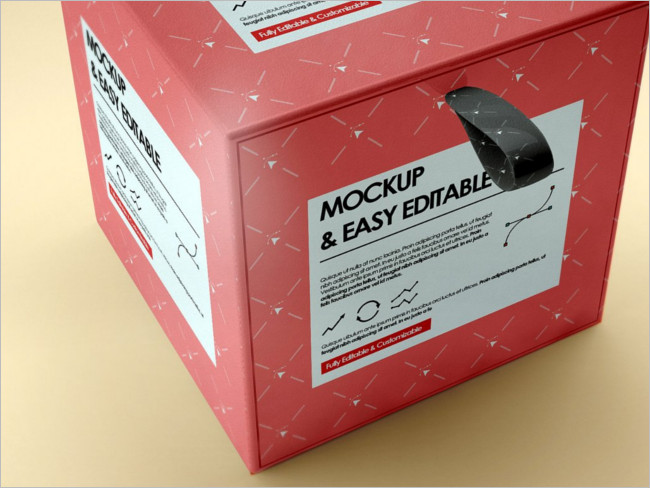 Creative Box MockUp Design