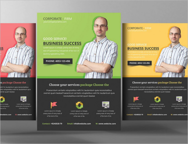 Creative Business Consulting PSD Flyer Designs