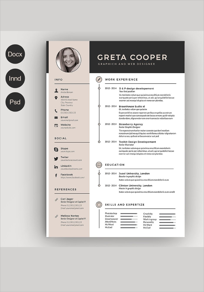 Creative Clean Resume Template