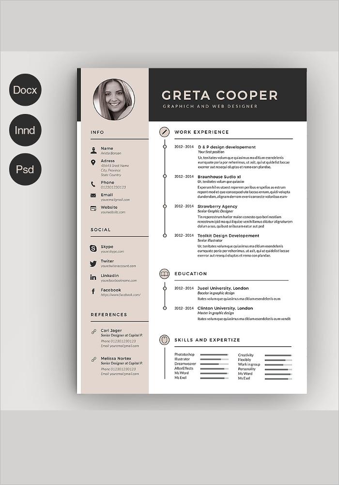 Creative Clean Resume Template