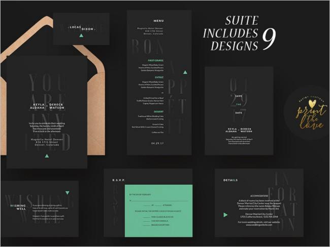 Creative Invitation Design