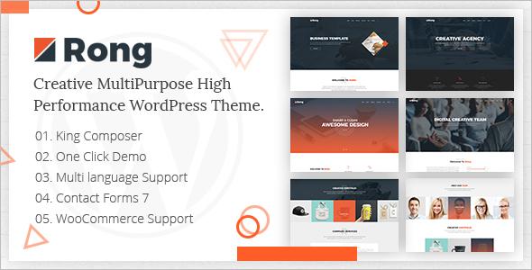 Creative Multi Purpose WordPress Theme