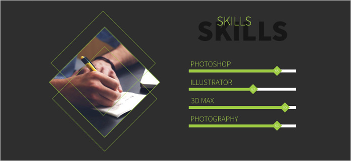 Creative Powerpoint Resume Template