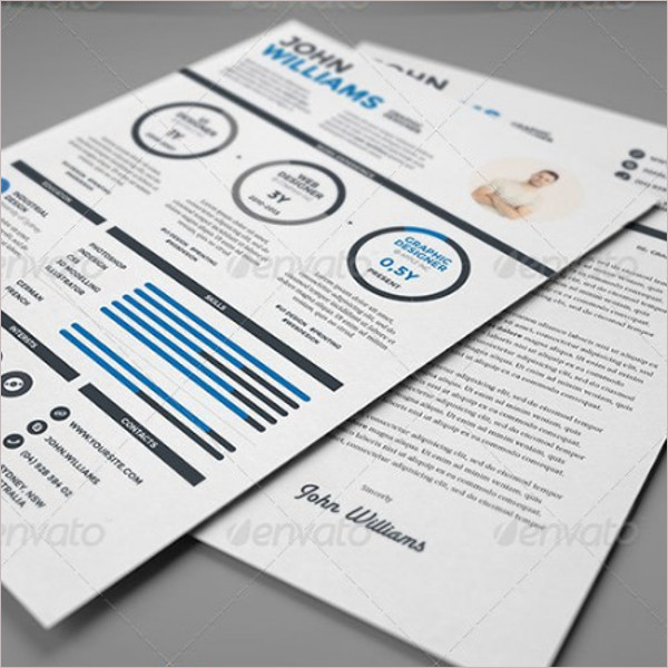Custom Infographic Resume