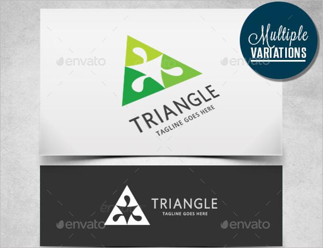 Custonmize Power Triangle Logo Design