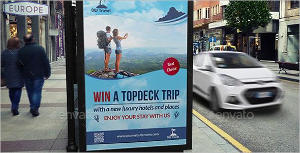 Deck Trip Poster Template