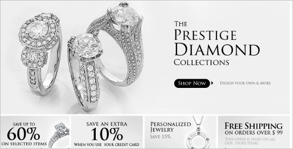 Diamond Jewelry ZenCart Theme