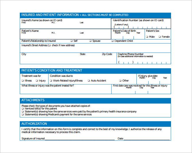 Doctor's Insurance Prescription Template