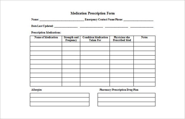 Doctor Prescription Templates || Free & Premium Templates ...