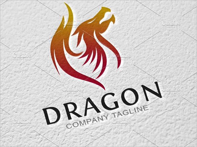 Logo Templates Of Dragon