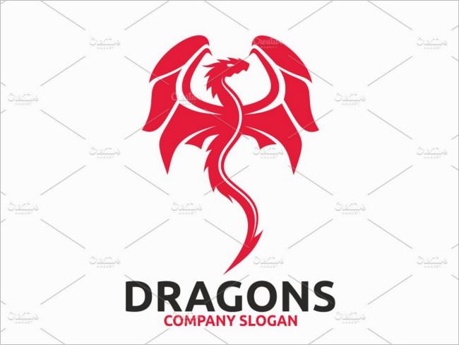 Non-Multi Dragon Logo Designs