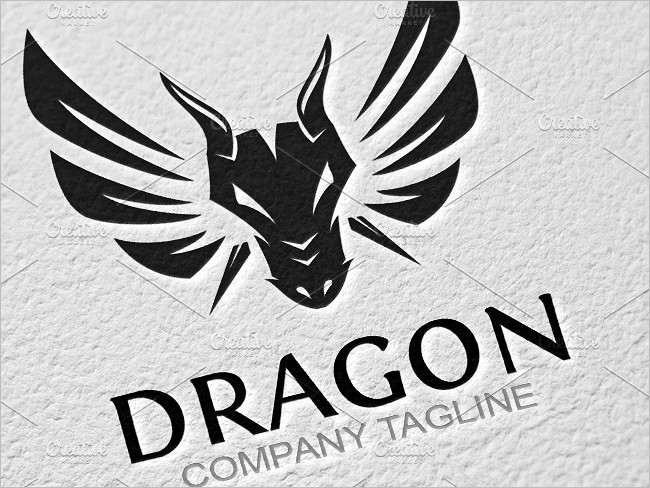 Dragon Logo Template Elegant Designs