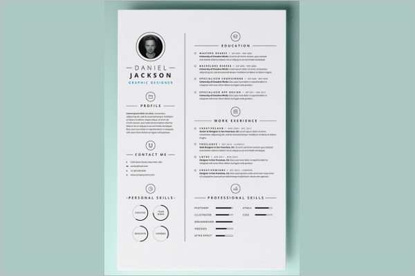 free mac resume templates