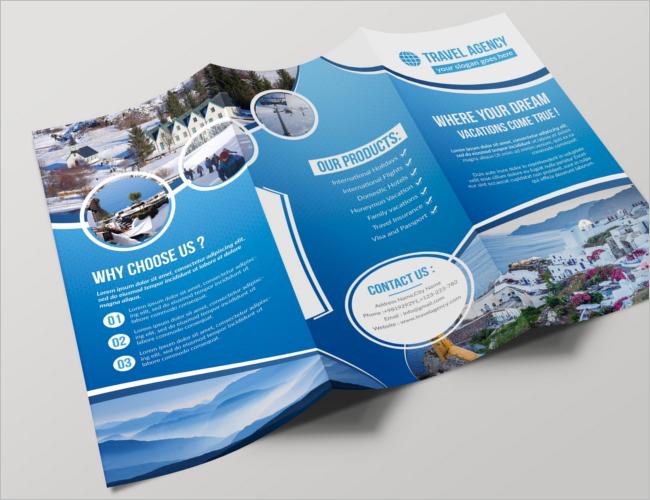 Elegant Travel Brochure