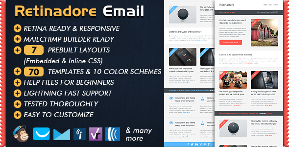 Email Newsletter Web Template