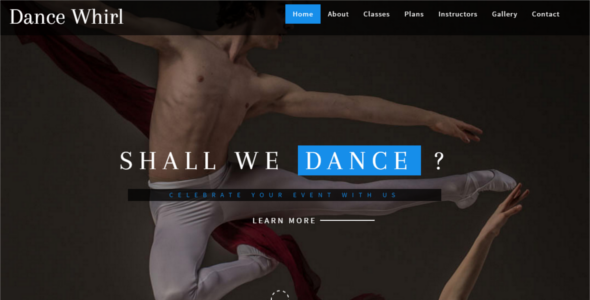 Entertainment HTML 5 Website Template