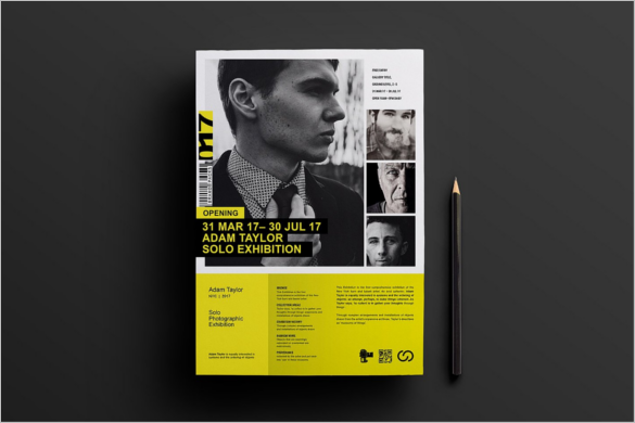 Exhibition A3 Poster Template