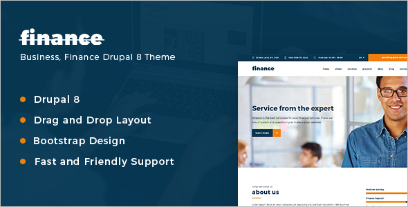 Extreme Finance Consulting Drupal Template