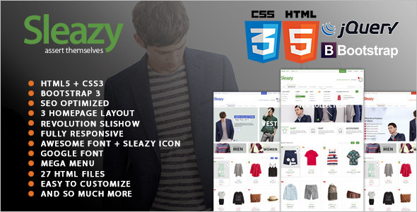 Fashion Responsive WordPress Template