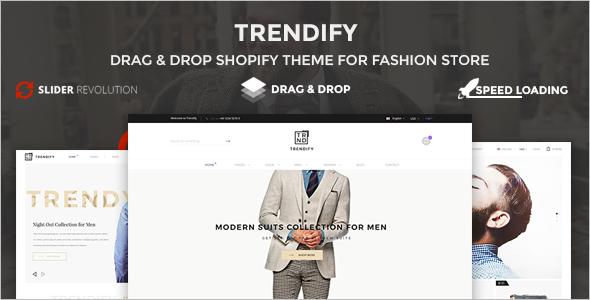 Fashion Shopify WordPress Theme