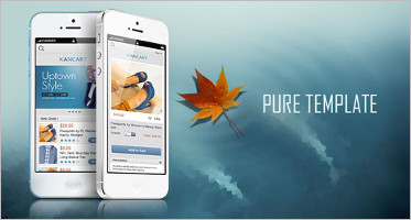 Mobile VirtueMart Themes