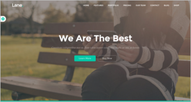 Marketing Landing Page Themes