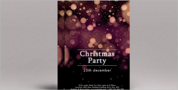 Festival Christmas Flyer