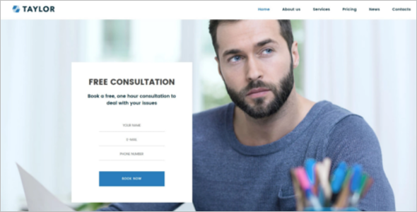 Financial Accounting Website Theme
