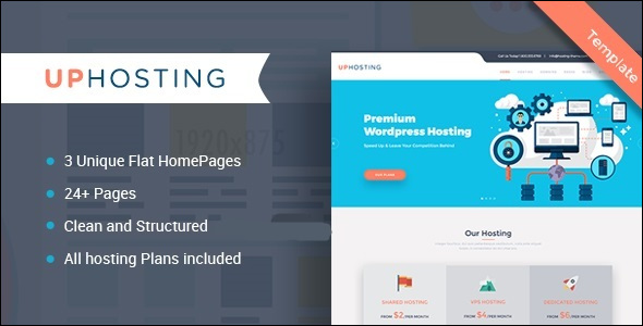 Flat Hosting Technology Template