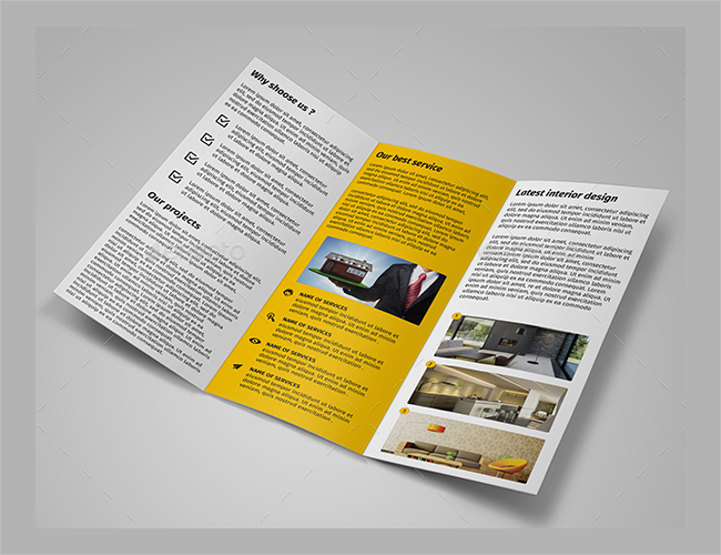 Flexiable Interior Decoration Brochure