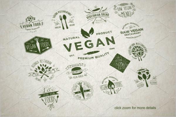 Food Badges & Stickers Design