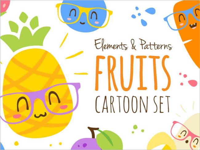 Fruits Cartoon Channel