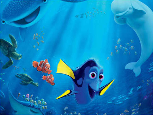 Fun Disney Pixar Finding Design Background