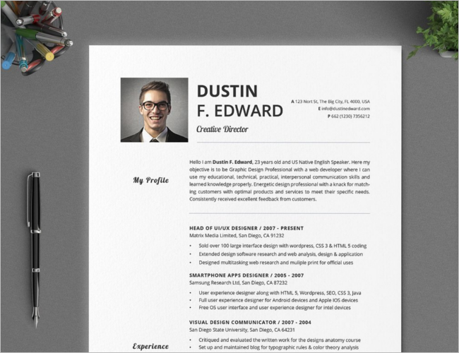 Functional resume and cover letter
