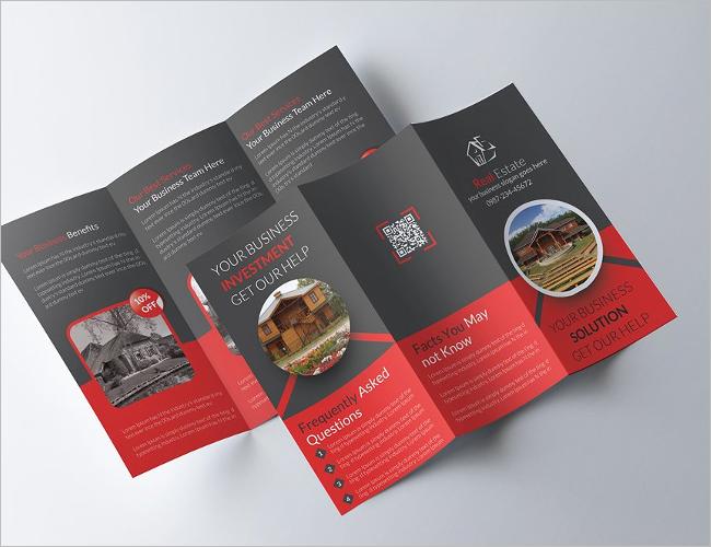 Furniture Brochure Design decoration