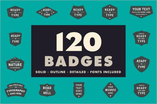 Graphic Badges & Stickers Design