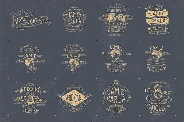 Grunge Badges & Stickers Design