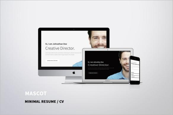 HTML 5 Resume Design Template