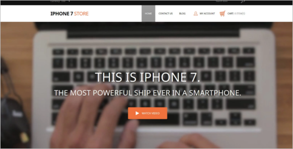 IPhone Mobile Shopify Template