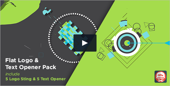 Industrial Abstract Video Template