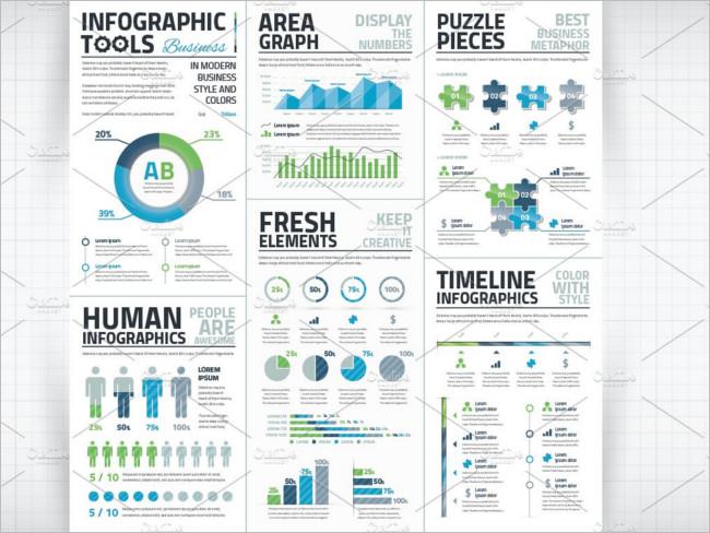Infographic Business Vector Elements Design