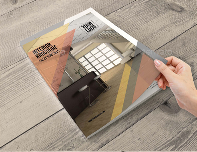 Interior Architecture Decoration Brochure