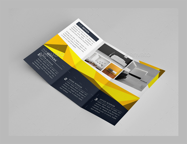 Interior Brochure Layout Design