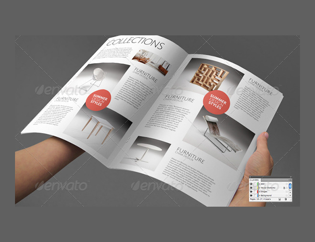 Interiors Decoration Brochure Catalog