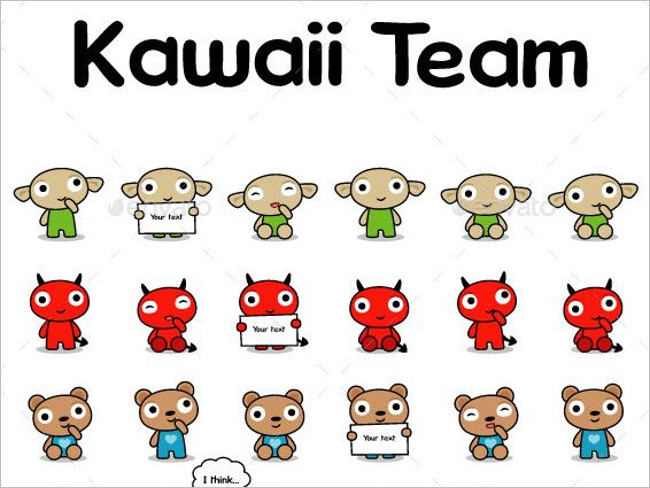 Kawaii Sushi Team