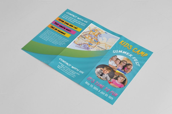 Kindergarten-Photorealistic-Brochure-Template